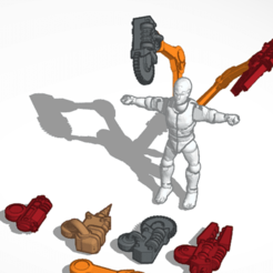 t725.png Download free STL file Servo Arms • 3D printing model, adamjlove92