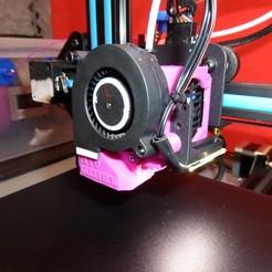 Télécharger fichier impression 3D gratuit buse geeetech A10 turbo fan 5015, 4x4corsu