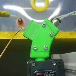 20200112_201856.jpg Télécharger fichier STL Boîtier de capteur à filament pour extrudeuse à double entraînement • Plan imprimable en 3D, nestorbad