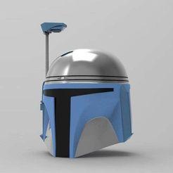 Download STL file Jango Fett helmet STL file for 3d print 3D print model • 3D printer object, 3dPrintArmory