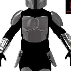 Download 3D printer designs Mandalorian armor, 3dPrintArmory