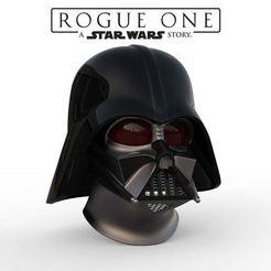 Download STL file Darth Vader helmet Rogue One Accurate 3d print • 3D print model, 3dPrintArmory