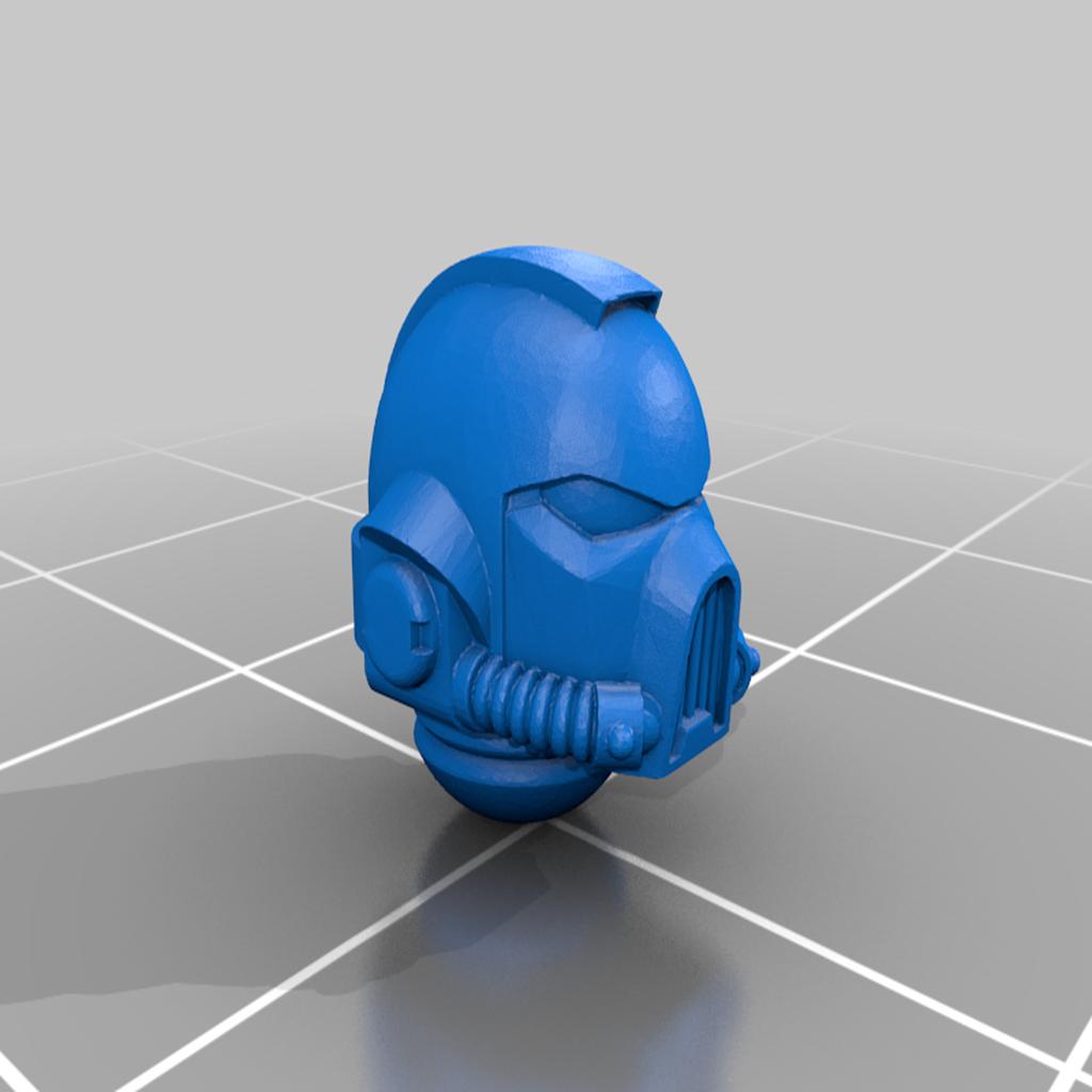 Primaris_MK7.png Download free STL file Cawl Marine MK7 Helmet • 3D print design, Miffles_Makes