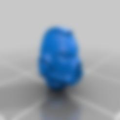 Download free STL file Cawl Marine MK7 Helmet • 3D print design, Miffles_Makes