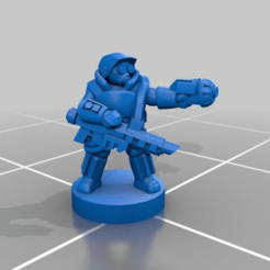 5a7fa65c3b02591eafb10344acc6e264.png Download free STL file 6mm Empire Star Army, Dragoon Shocktrooper Infantry • 3D printing object, Miffles_Makes