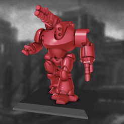 Colossus_Robot.png Download STL file 6/8mm Artificer Church, Conqueror Seige Robots • Design to 3D print, Miffles_Makes