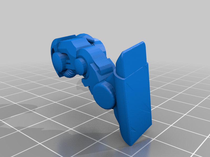 Leg_R.png Download free STL file 28mm Cosmo Knight Naismith Pattern Tomb Walker • 3D printer model, Miffles_Makes