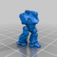 Colossus_Body_03_processed.png Download STL file 6/8mm Artificer Church, Conqueror Seige Robots • Design to 3D print, Miffles_Makes