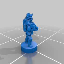 Pack_Leader_B.png Download free STL file 6mm Discord Cultists, Blood Cult Infantry • Template to 3D print, Miffles_Makes