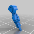 Colossus_Arm_Lascannon_04_processed.png Download STL file 6/8mm Artificer Church, Conqueror Seige Robots • Design to 3D print, Miffles_Makes