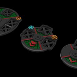 BFG_Bases.png Download free STL file BFG Bases, Various sizes • Model to 3D print, Miffles_Makes