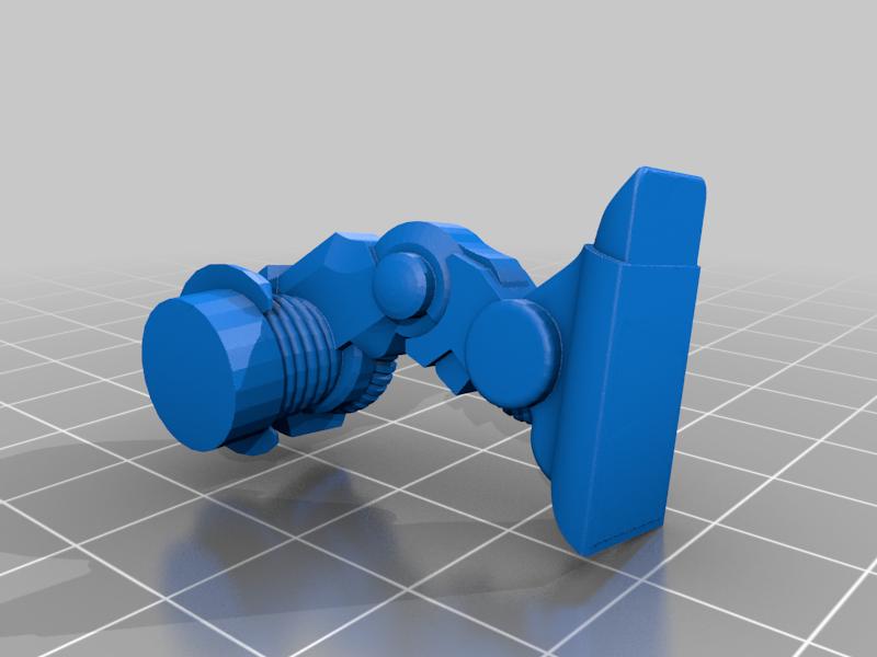 Leg_L.png Download free STL file 28mm Cosmo Knight Naismith Pattern Tomb Walker • 3D printer model, Miffles_Makes