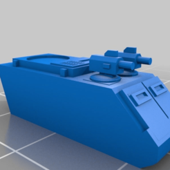 7a69fb2fc00dd3e293da159ead0831e7.png Download free STL file 6mm Cosmo Knight, Jager Anti-Aircraft tank (Remix) • Model to 3D print, Miffles_Makes