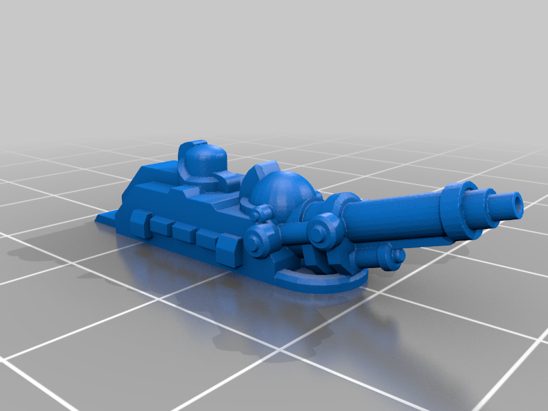 Gun.png Download free STL file 6mm Cosmo Knight Aircraft, Screaming Eagle Assault Transport • 3D printable model, Miffles_Makes
