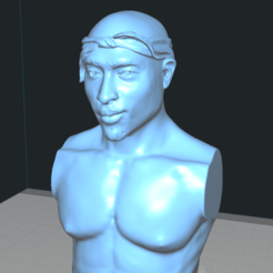 pac5.png Download free STL file 2 PAC BUST THUG LIFE • 3D printable design, Madhazred
