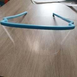 Imprimir en 3D gratis gafas de protección gafas de protección, Luka3dStudio