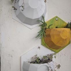 Télécharger fichier imprimante 3D gratuit Jardinière murale, MAPBuH