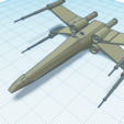 X-WING.png Download free STL file X-Wing • 3D printable object, salvadortegas2