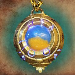 Descargar diseños 3D gratis Corazón de Azeroth de World of Warcraft, 3dprintingwithsam