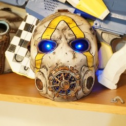 Download free 3D printing designs Borderlands 3 Psycho Mask, 3dprintingwithsam