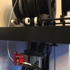 Download free 3D printer designs Spool roller for IKEA Lack table, laurentcluzel