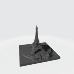 Descargar STL Modelo de la torre Eiffel, McBerdy