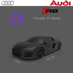 Portada.jpg Download OBJ file AudiR8 • 3D print design, HenryCGI
