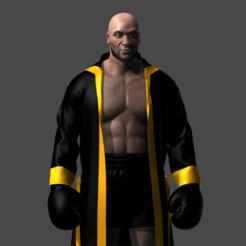 Imprimir en 3D Boxer, HenryCGI