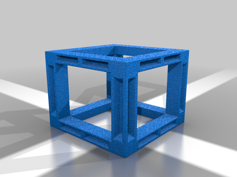 2x2x2_Scaffolding.png Download free STL file OpenFoliage Cliff Set - Support Free Printing - Modular • 3D print design, BellForged