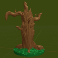 Living_Stump2.png Download free STL file Living Stump: Pre-supported Version on Patreon • 3D printing model, BellForged