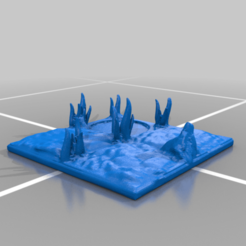 50l21mm_6.png Download free STL file OpenFoliage Remastered 20 mm Tiles • 3D print template, BellForged