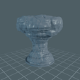 Rock_Large1.png Download free STL file Rock Formation - With and Without Vines • 3D printer template, BellForged