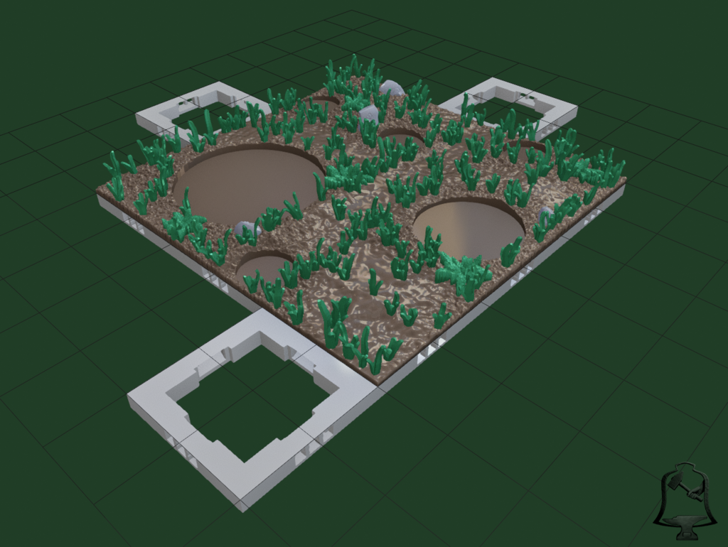 Forset_Path_Open_Forge1.png Download free STL file OpenFoliage Forest Set - Complete Pack • 3D printing object, BellForged