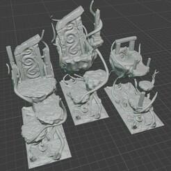 portal islands.jpg Download STL file Magic Floating Portal Islands • 3D printer model, BellForged
