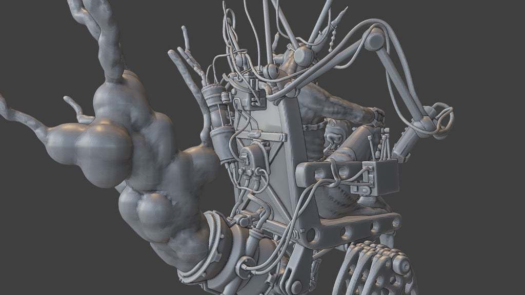 Render7.jpg Download free STL file Zakolt Elder • 3D printable template, BellForged