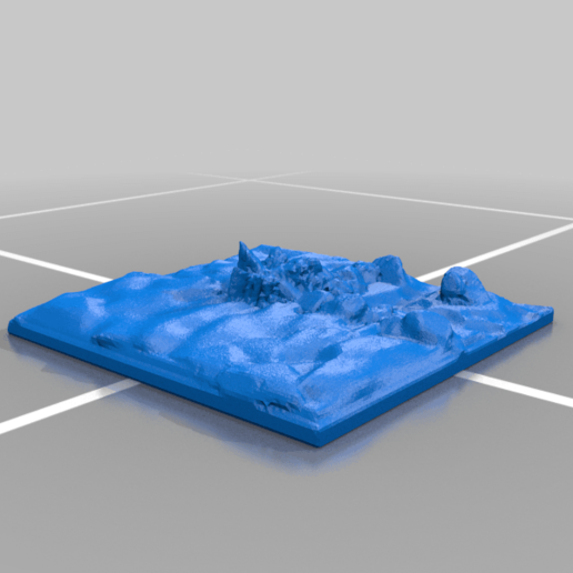 River_path_1_50mm_1.png Download free STL file OpenFoliage River Path Tile Set • 3D print model, BellForged