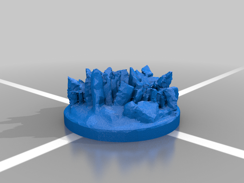 Temple_Path_1_20mm_cut_1.png Download free STL file OpenFoliage Temple Stone Path • 3D printer design, BellForged