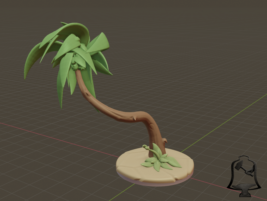 Palm_Tree_1.png Download free STL file Desert Terrain Tile Set • Template to 3D print, BellForged