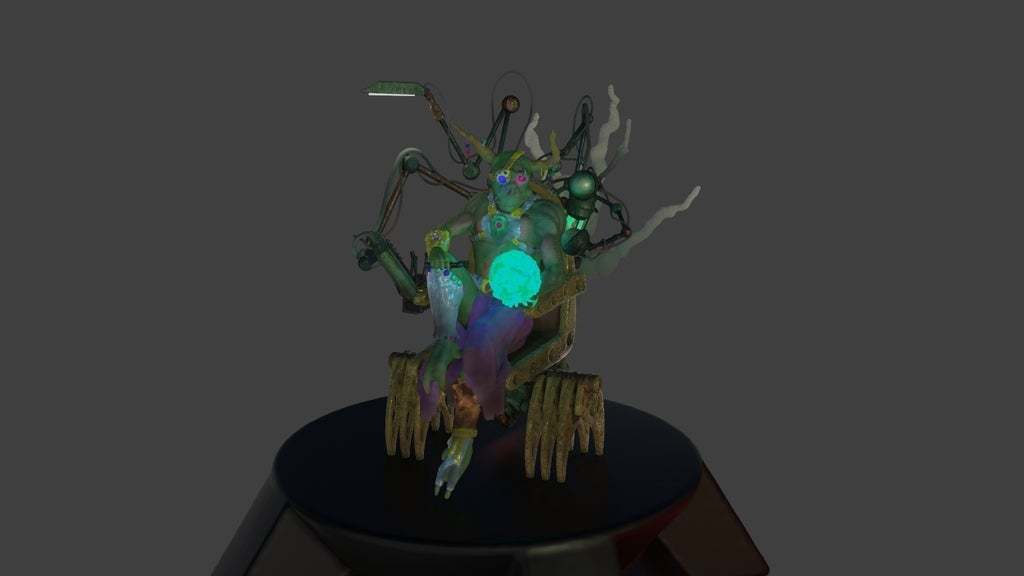 Render2.jpg Download free STL file Zakolt Elder • 3D printable template, BellForged
