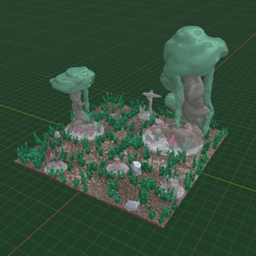 Terrain.png Download free STL file OpenFoliage Forest Set - Complete Pack • 3D printing object, BellForged