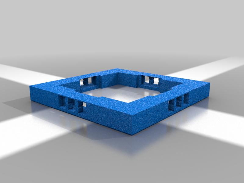 2x2_Platform.png Download free STL file OpenFoliage Cliff Set - Support Free Printing - Modular • 3D print design, BellForged