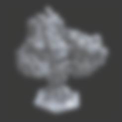 Bush1.stl Download free STL file Small Bush or Shrub • Model to 3D print, BellForged