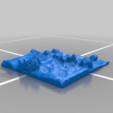 River_path_1_50mm_2.png Download free STL file OpenFoliage River Path Tile Set • 3D print model, BellForged