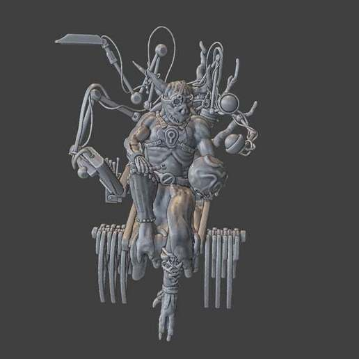 Render6.jpg Download free STL file Zakolt Elder • 3D printable template, BellForged