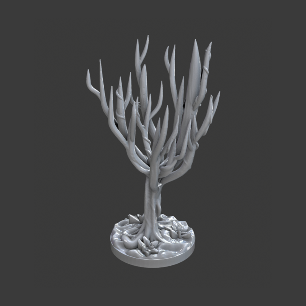 Eviltree_small.PNG Download free STL file Evil Tree • 3D printing template, BellForged
