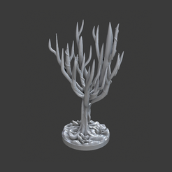 Download free STL file Evil Tree • 3D printing template, BellForged