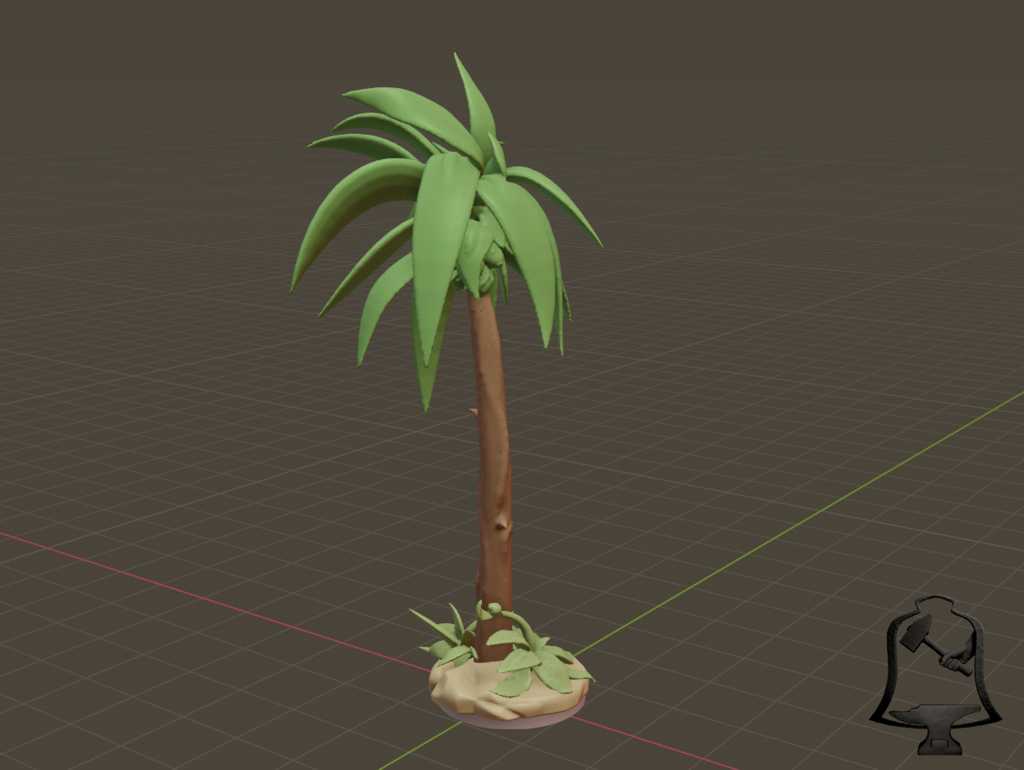 Palm_Tree_2.png Download free STL file Desert Terrain Tile Set • Template to 3D print, BellForged