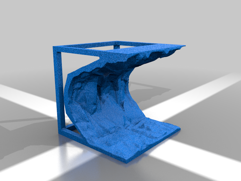 2x2_Rock_Overhang_2211.png Download free STL file OpenFoliage Cliff Overhangs/Caves • 3D printer template, BellForged