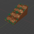 Grass_Slope1.png Download free STL file OpenFoliage Grass Slope • 3D printable design, BellForged