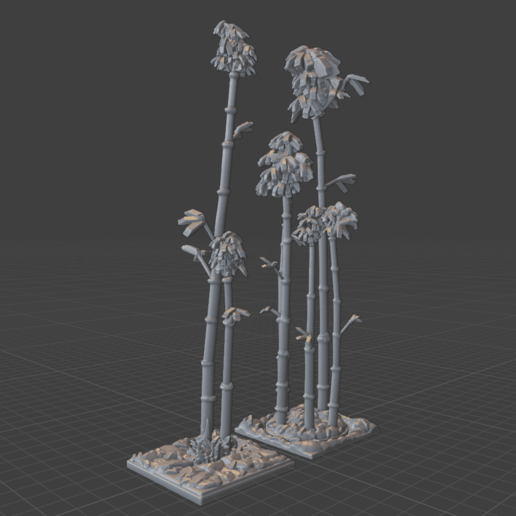 Download STL file OpenFoliage Bamboo Path Set • 3D printing model, BellForged